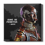 Okoye Canvas Print - Black Panther