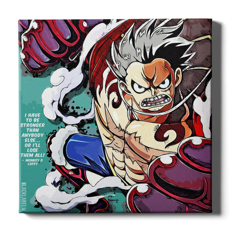 Luffy Canvas Print - One Piece