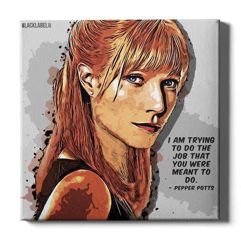 Pepper Potts Canvas Print - Iron Man