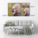 Professor X (Charles Xavier) Canvas Print - X-Men