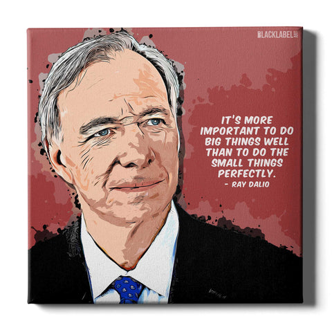 Ray Dalio Canvas Print