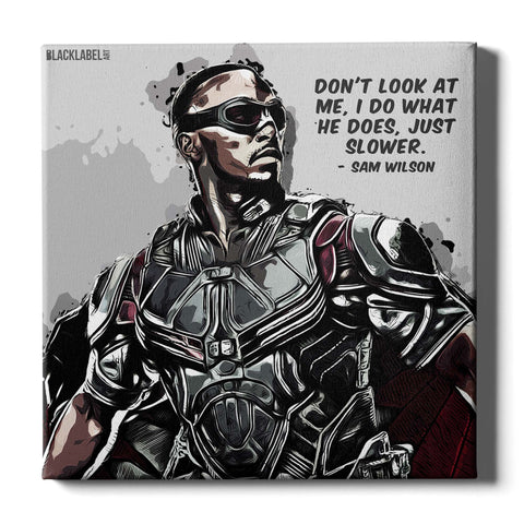 Sam Wilson (Falcon) Canvas Print - Marvel