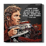 Star Lord Canvas Print - Guardians of the Galaxy