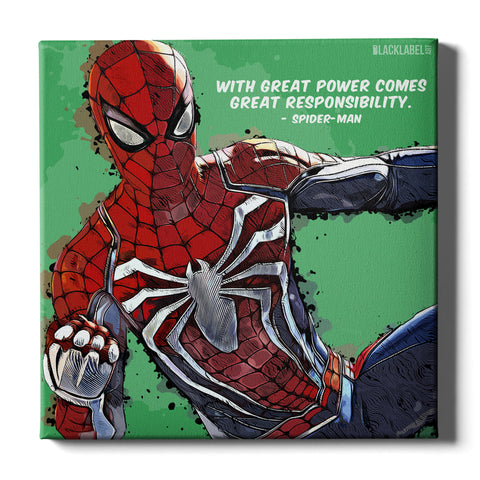 Spider-Man Canvas Print - Marvel