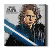Anakin Skywalker Canvas Print - Star Wars