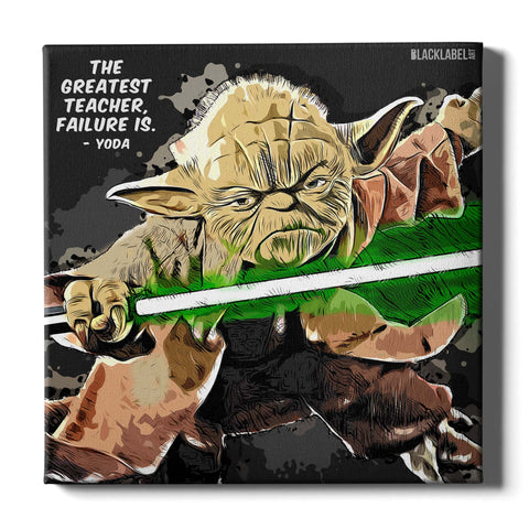 Yoda Canvas Print - Star Wars