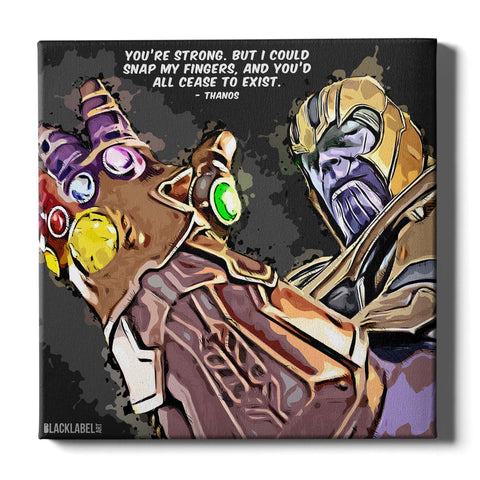 Thanos Canvas Print - Marvel