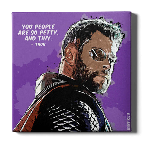 Thor Canvas Print - Marvel
