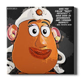 Mrs. Potato Head Canvas Print - Toy Story