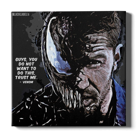 Venom Canvas Print - Marvel