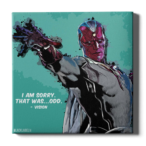 Vision Canvas Print - Marvel