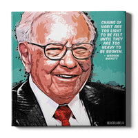 Warren Buffett Canvas Print
