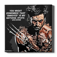 Wolverine Canvas Print - X-Men