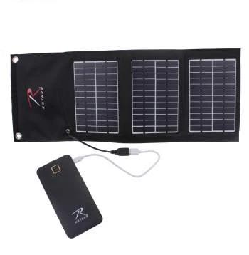 MOLLE Solar Panel With Power Bank - Terra5.0