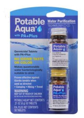 Potable Aqua P.A. Plus 2 Step Water Treatment - Terra5.0