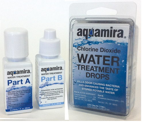 Aquamira, Water Treatment Drops - Terra5.0