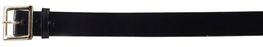 Black Genuine Cowhide Garrison Belt - Terra5.0