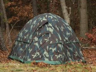Camo 3-Man Hexagon Dome Tent - Terra5.0