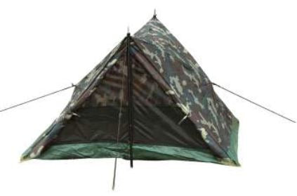 Camo Two Man Trail Tent - Terra5.0