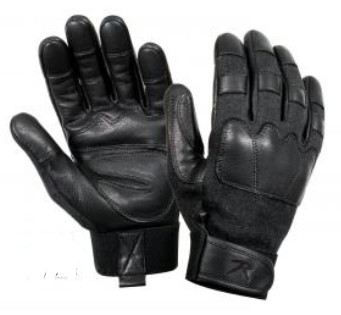 Leather Knuckle, Flame and Cut Resistant Tactical Gloves - Terra5.0
