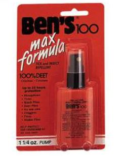 Ben's 100 Max DEET Insect Repellent Spray Pump - Terra5.0