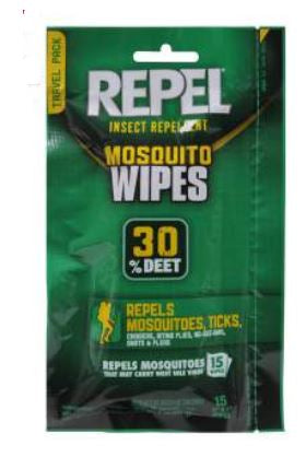 Repel Sportsman Wipes 30% DEET - Terra5.0