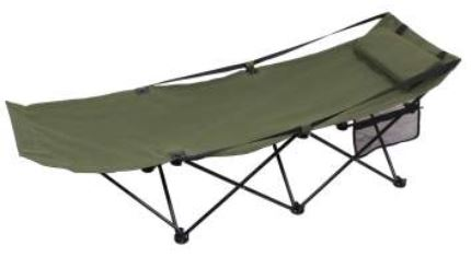 Deluxe Folding Camping Cot - Terra5.0