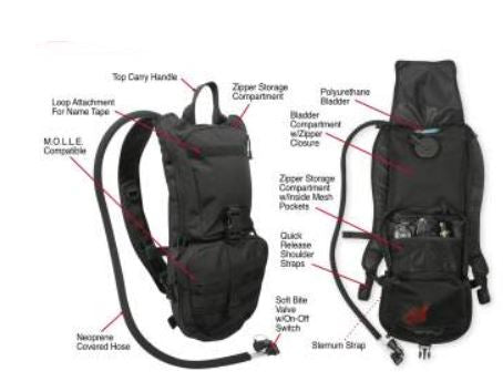 Rapid Trek Hydration Pack - Terra5.0