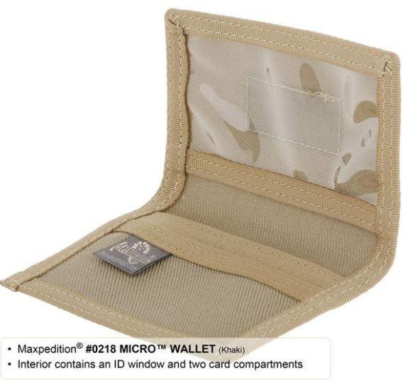 Maxpedition Micro Wallet - Terra5.0