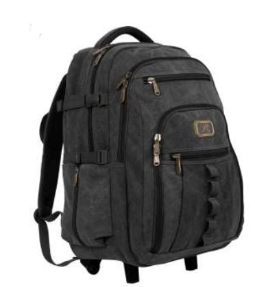 Rolling Canvas Backpack - Terra5.0