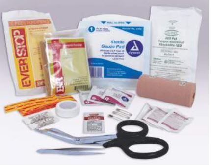 Tactical Trauma First Aid Refill Kit - Terra5.0