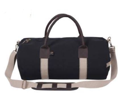 Canvas & Leather Gym Duffle Bag - Terra5.0