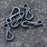 10 pcs Spring Loaded Mini Carabiners - Terra5.0