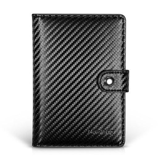 Terra 5.0 Carbon Fiber & Leather Passport Holder - Terra5.0