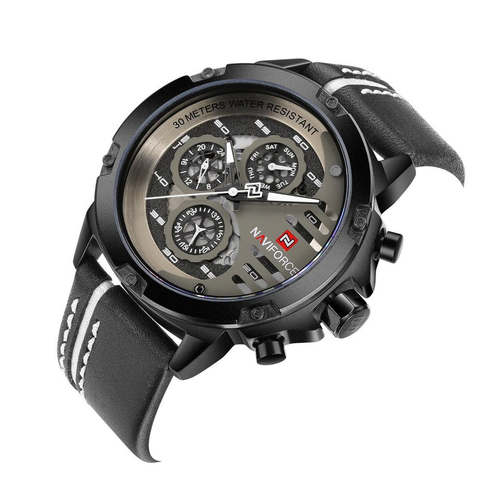 Naviforce 9100 Water Resistant Watch - Terra5.0