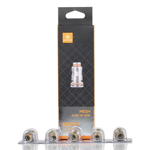 GEEKVAPE AEGIS BOOST 40W POD REPLACEMENT COILS - 5 PACK