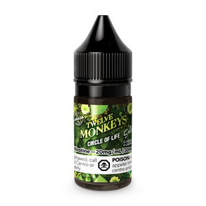 CIRCLE OF LIFE SALT NIC BY 12 MONKEYS CIRCLE OF LIFE - 30ML
