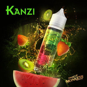 KANZI E-LIQUID BY 12 MONKEYS - 60ML
