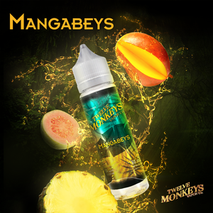 MANGABEYS E-LIQUID BY 12 MONKEYS - 60ML