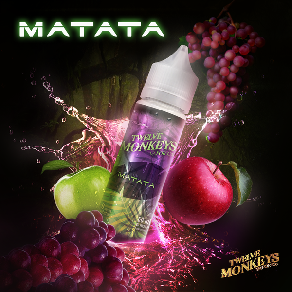 12 MONKEYS E-LIQUID MATATA E-LIQUID - 60ML
