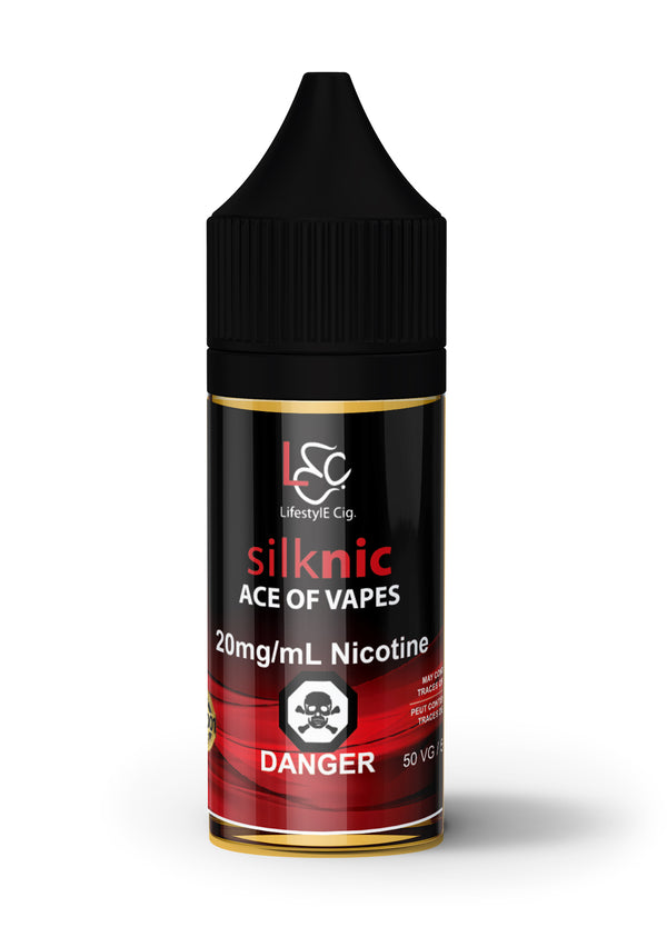 LIFESTYLE CIG ACE OF VAPES SILK NIC - 30ML