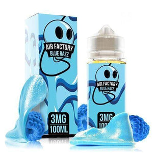AIR FACTORY E-LIQUID - BLUE RAZZ - 100ML Ejuice - LifestylE Cig Eliquids