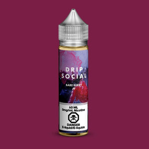 BARE BERRY BY DRIP SOCIAL E-LIQUID - 60ML