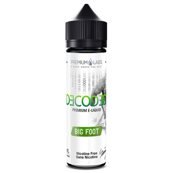 BIG FOOT E-LIQUID BY DECODED - 60ML