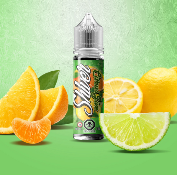 VANGO VAPES SHIVERS CITRUS JIVE E-LIQUID - 60ML