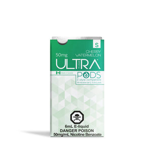 ULTRA S PODS CHERRY WATERMELON (STLTH COMPATIBLE) - 3 PACK