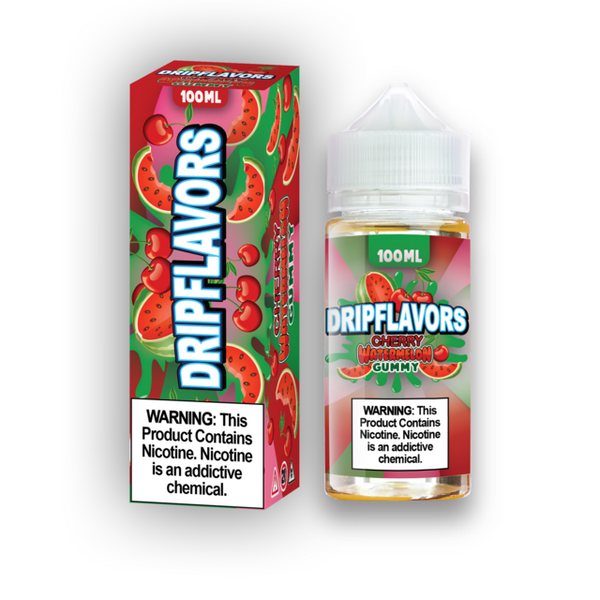 Cherry Watermelon Gummy E-Liquid - 100ML By Drip Flavors - LifestylE Cig Eliquids