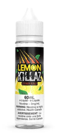 CITRUS RAGE E-LIQUID BY LEMON KILLAZ - 60ML