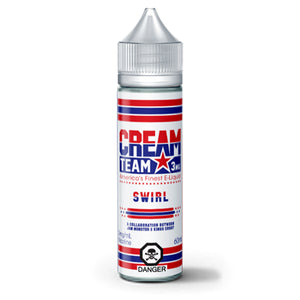 CREAM TEAM SWIRL E-LIQUID - 60ML