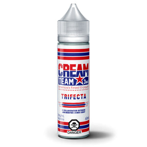 TRIFECTA E-LIQUID BY CREAM TEAM - 60ML